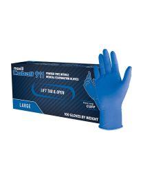 Cobalt 911 Powder Free Nitrile Medical Examination Gloves