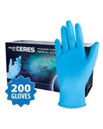 maxill nes CERES Powder Free Nitrile Medical Examination Gloves