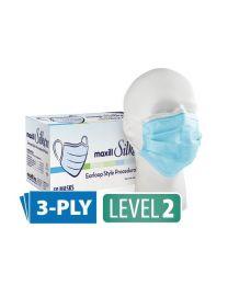 maxill Silken Level 2 Earloop Style Procedural Mask